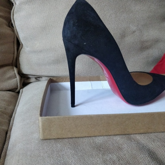 new product 9d00c cf3cc Christian Louboutin - Pigalle Follies 100 Suede Pu NWT
